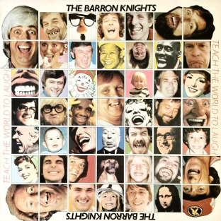 Barron Knights (The) ‎- Teach The World To Laugh (LP) (Signed) (EX/VG)
